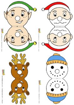 Turn Chupachups lollipops into Christmas characters for free!.