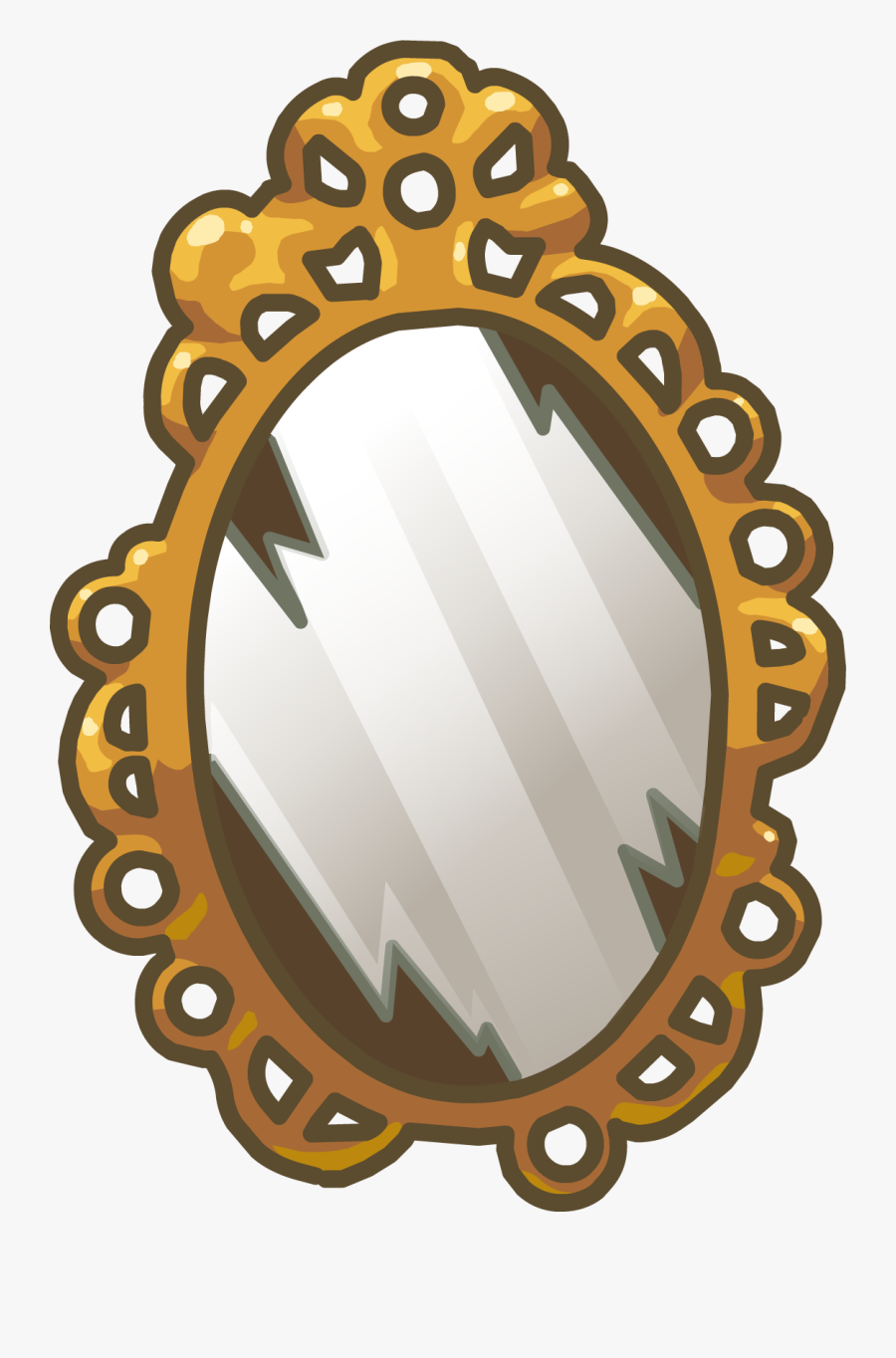 Clip Art Descendants Evie Mirror.