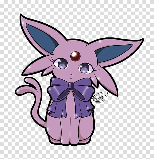 Espeon Umbreon Chibi Eevee Pokémon, Chibi transparent.
