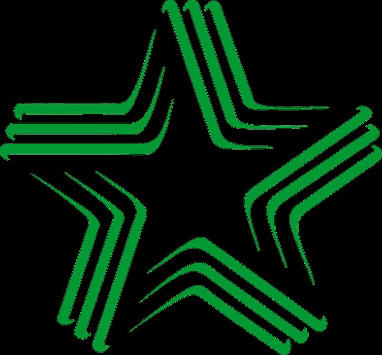 Free vector graphic: Esperanto, Logo, Star, Languages.