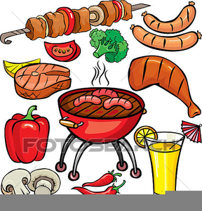 Clipart Espeto Churrasco.
