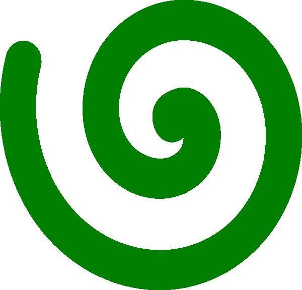 Espiral Verde Clip Art at Clker.com.