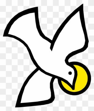 Holy Trinity Spirit Dove With Halo.