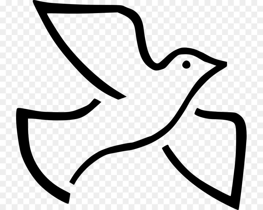 Doves as symbols Holy Spirit.