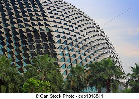 Stock Photography of Esplanade.