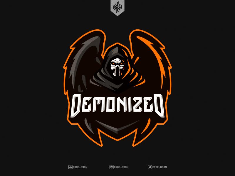 DEMONIZED eSports Mascot Logo by Erde Graphic Design on Dribbble.