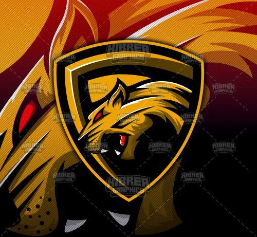 Panther Esports Mascot Logo.