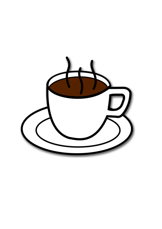 Coffee cup cafe espresso hot chocolate freemercial clipart png.