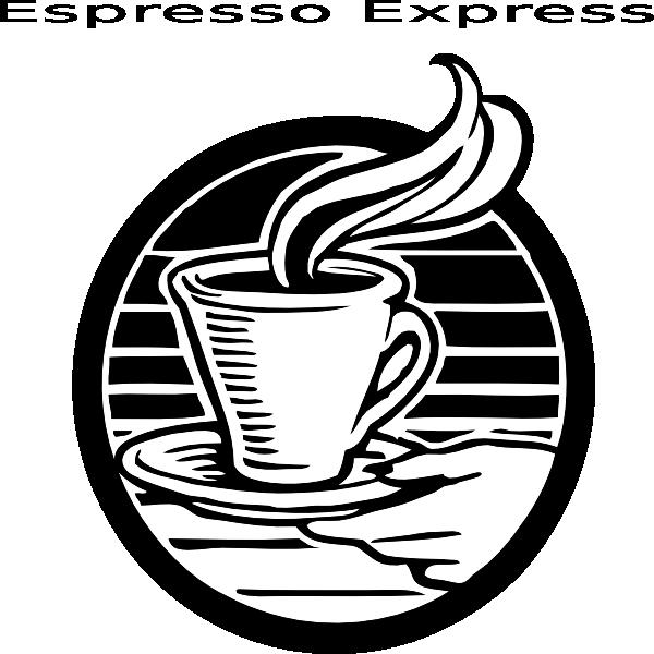 Espresso Express Clip Art at Clker.com.