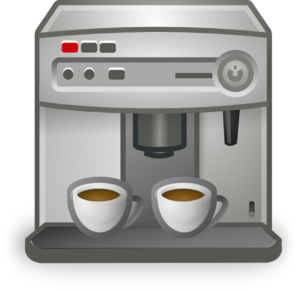 Clip art espresso machine.