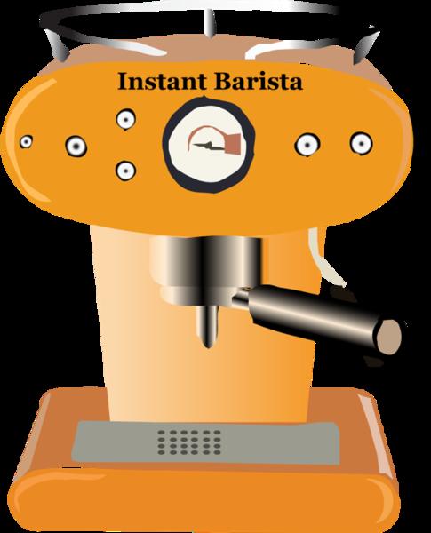 Free Espresso Barista Kit clip arts, free clipart.