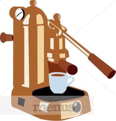 Espresso Machine Clipart.