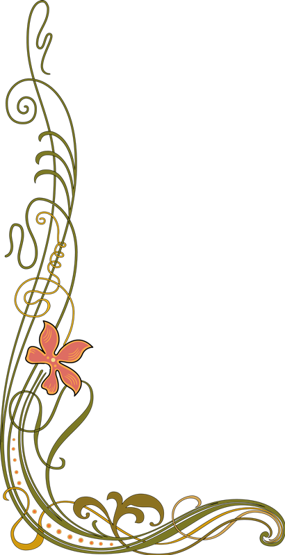flower flores esquineras esquina marco.