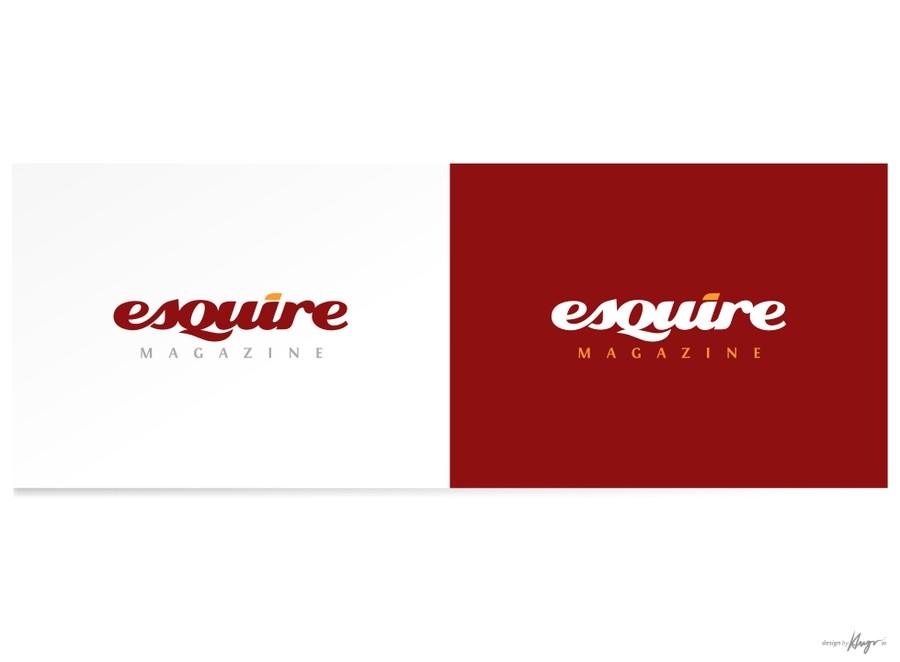 The Esquire Magazine Logo Challenge.