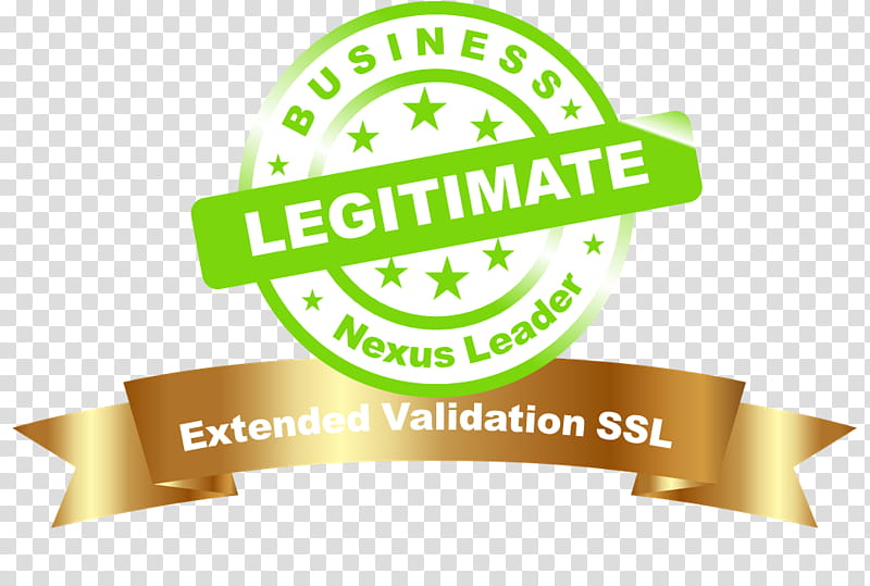 Business Background People, Extended Validation Certificate.