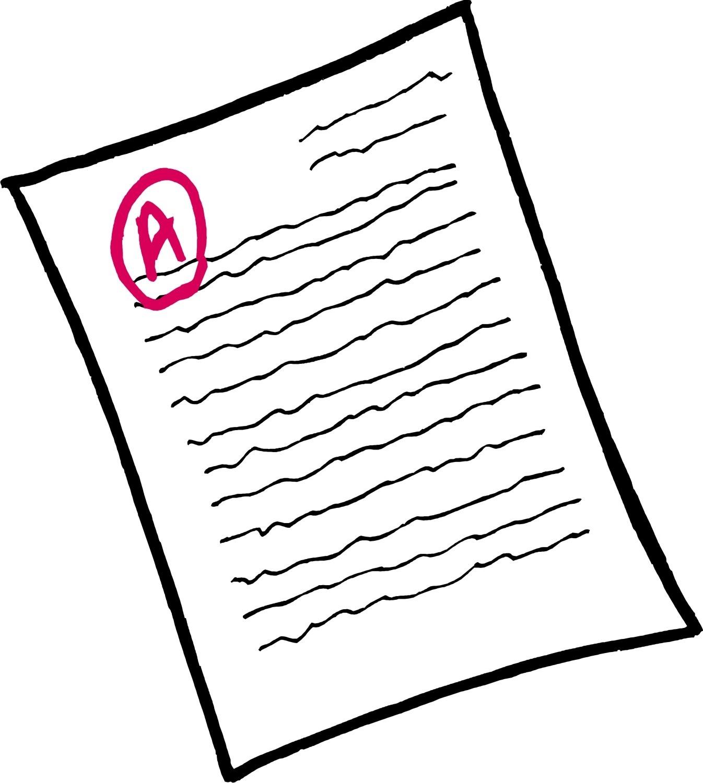 Essay Paper Clipart.