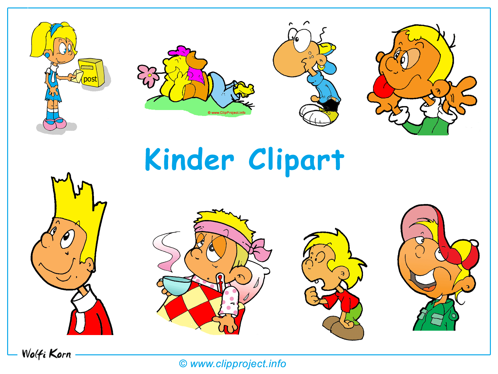 Clipart kostenlos Kinder.