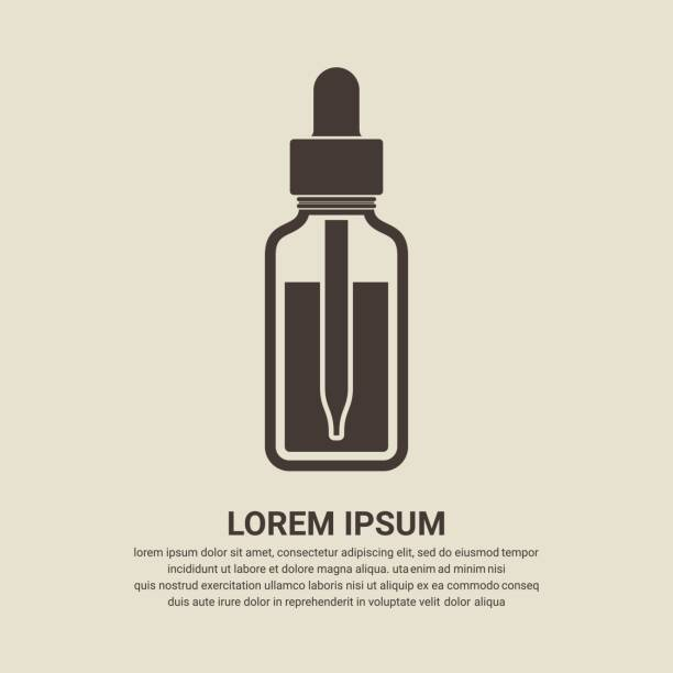 Best Essential Oil Illustrations, Royalty.