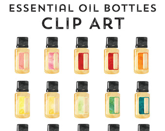 Essential oil clipart #20
