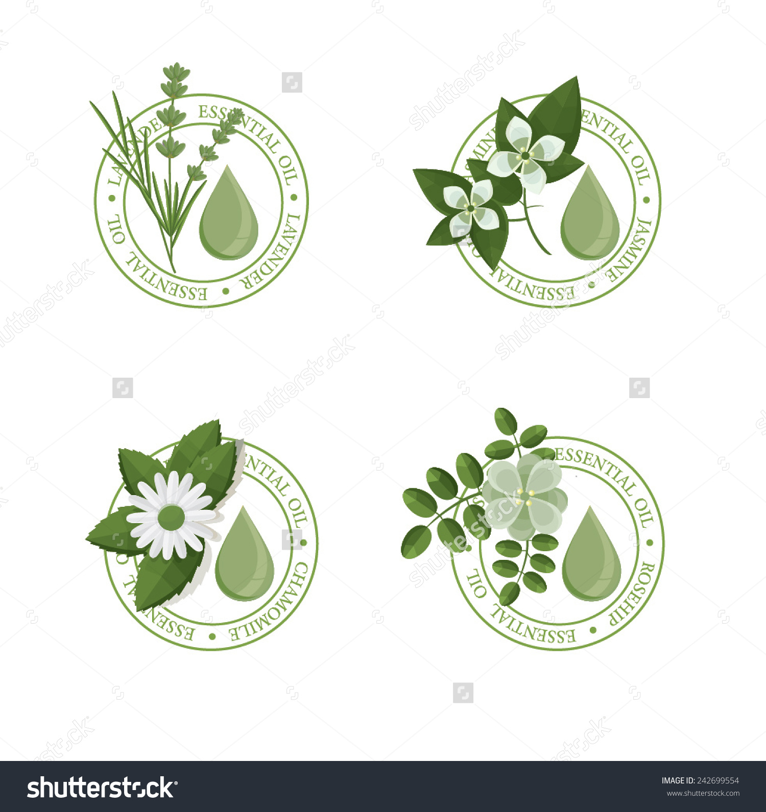 Essential oil clipart #4