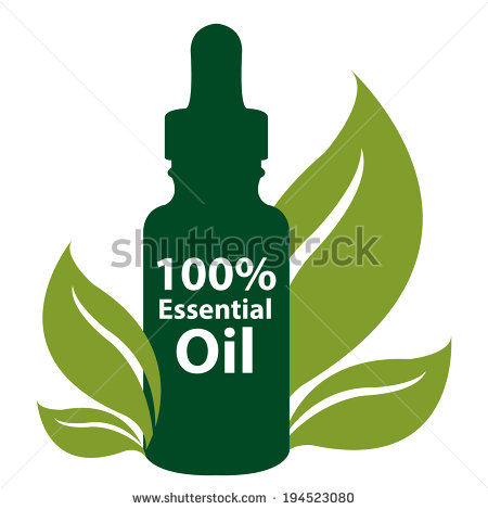 Essential oil clipart #9