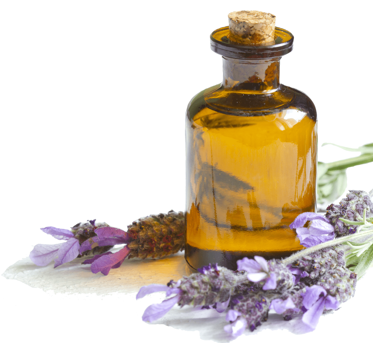Lavender Oil transparent PNG.