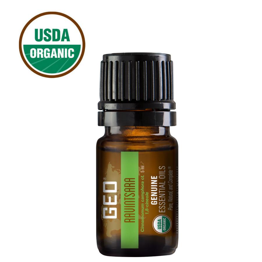 Ravintsara Organic Essential Oil.