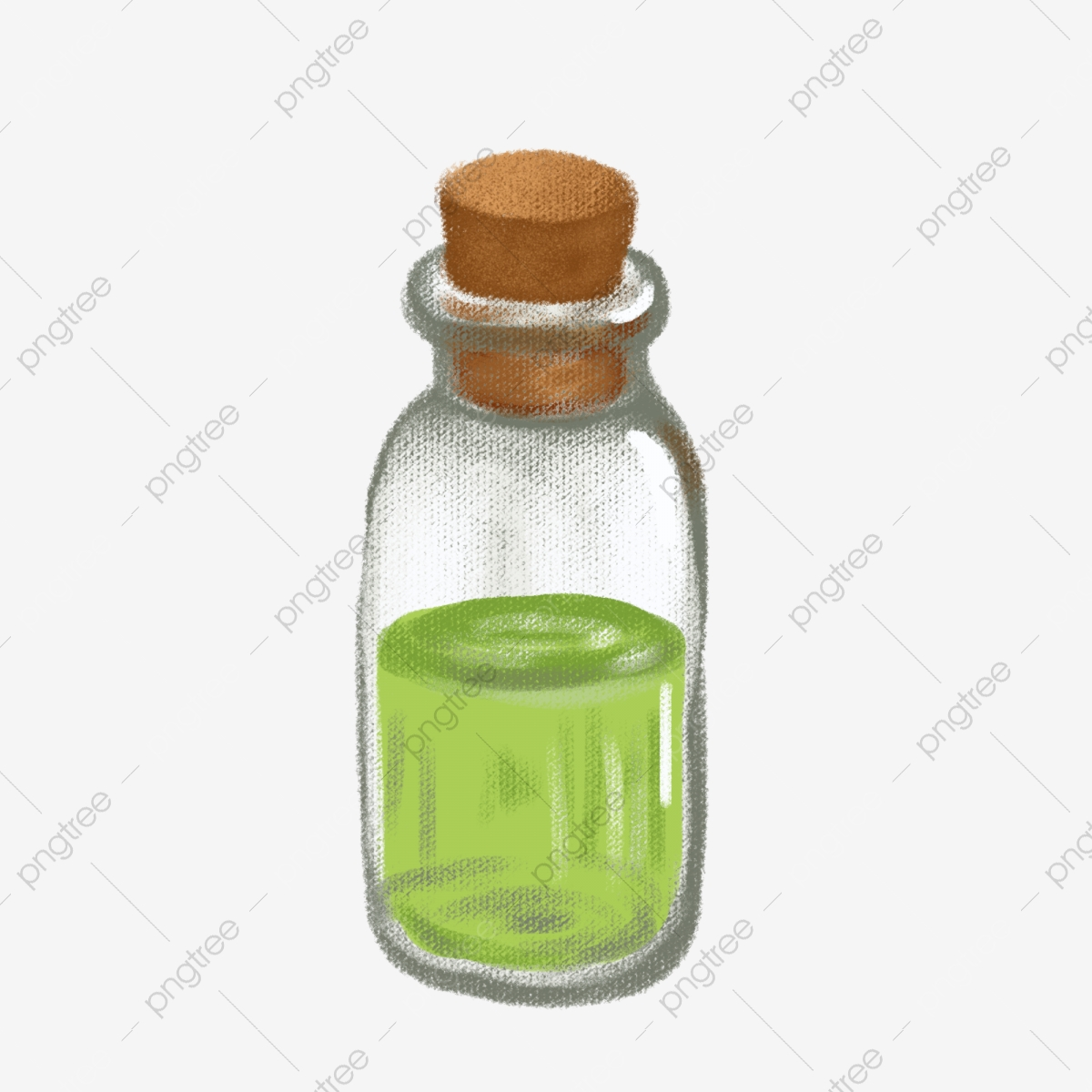 Ms Skin Care Products Essential Oil Illustration, Aromatherapy Oil.