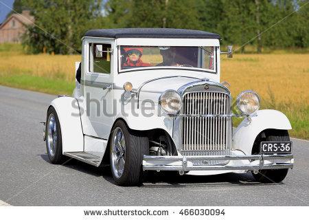 1929 Classic Car Stock Photos, Royalty.