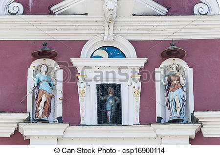 Stock Photography of Old Town Hall in Esslingen Am Nechar, Germany.