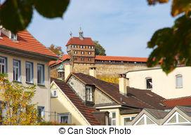 Esslingen castle Stock Illustrations. 1 Esslingen castle clip art.