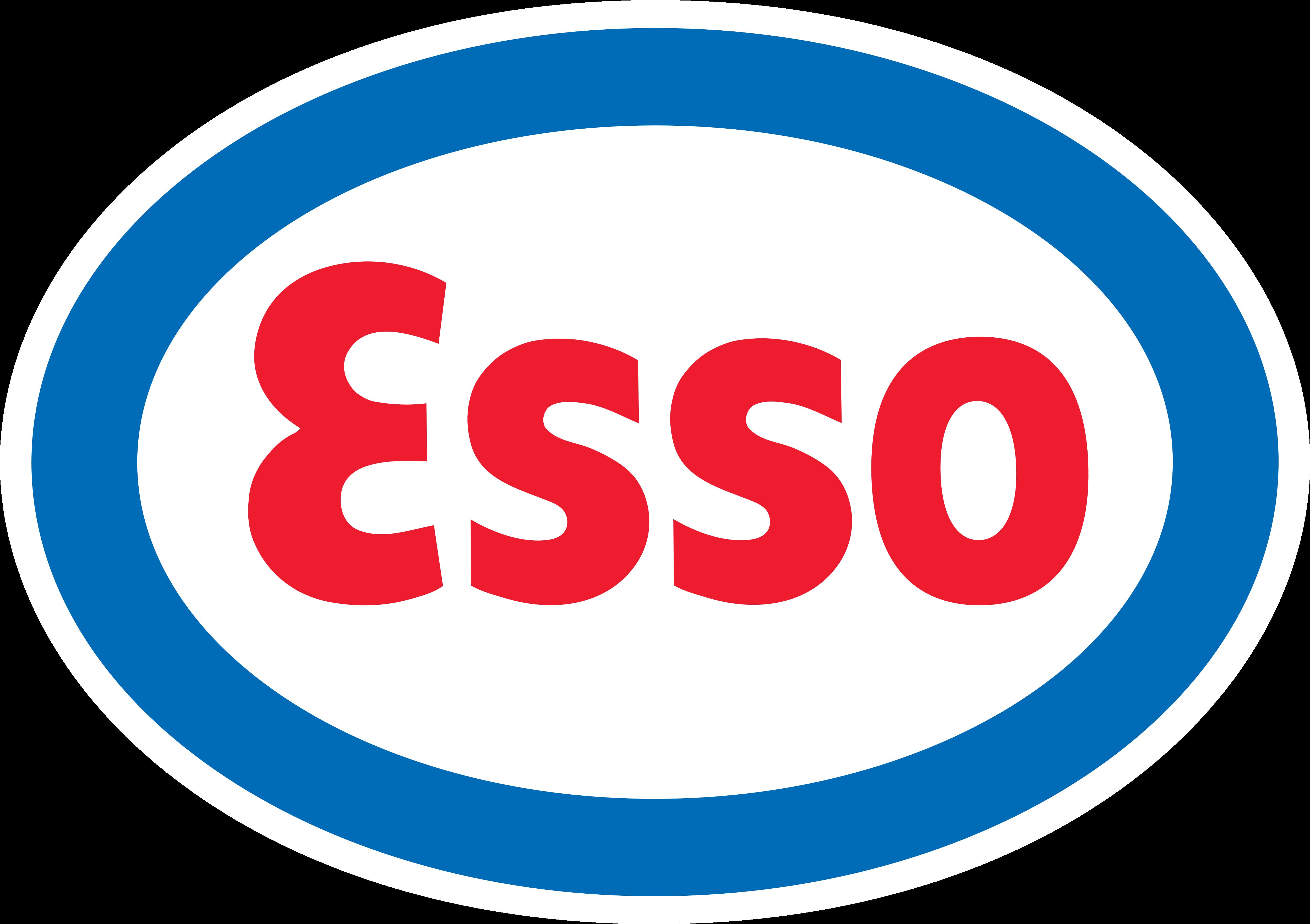 Esso logo.