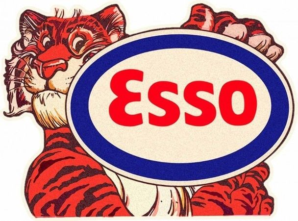 Esso Tiger with Logo.