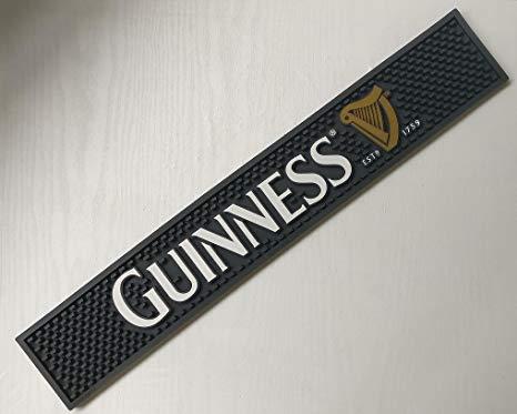 Amazon.com: Guinness Harp logo Est.1759 Professional Bar Mat.