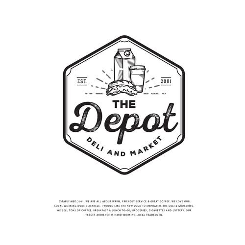 Create a new classic logo for local\'s favorite Deli & Market.