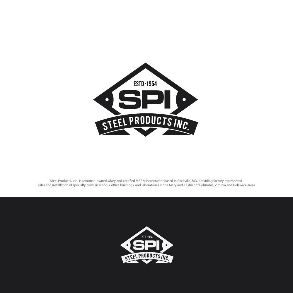 Modern, Professional Logo Design for Steel Products Inc.