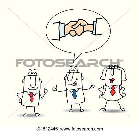 Clip Art of Mediation k31512446.