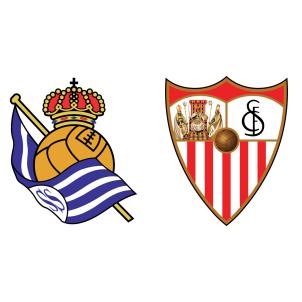 Real Sociedad vs Sevilla Live Match Statistics and Score Result.