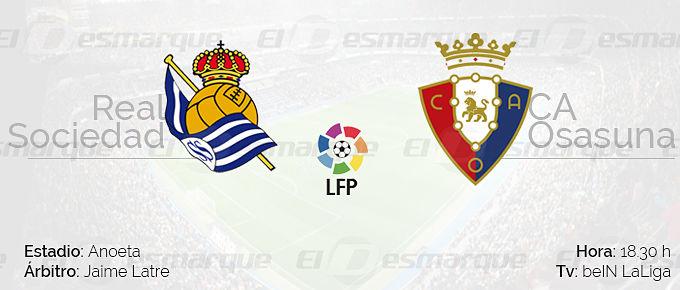 Previa Real Sociedad vs Osasuna.