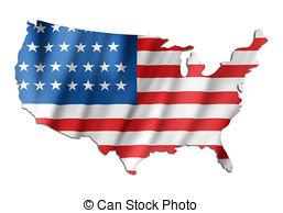 Usa map flag us map flag american flag map usa flag map.