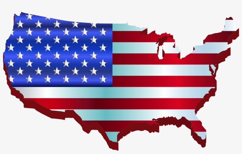 3d America Map Flag Enhanced Icons Png Free And Downloads.