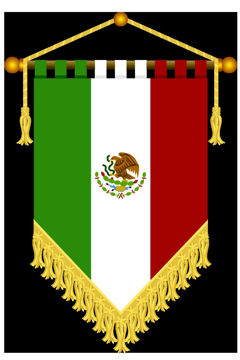 Cosas en PNG: Estandarte para México.