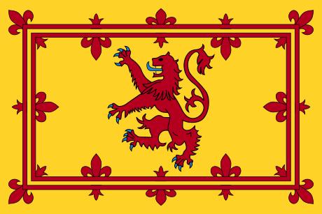 Estandarte Real de Escocia.