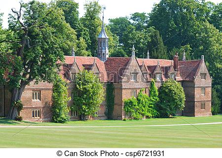 Stock Photography of Stately home Essex.