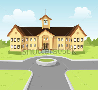 School Grounds Clipart.
