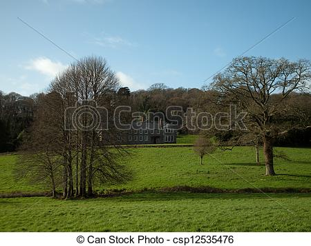 Picture of Penrose Estate nr. Helston Cornwall.