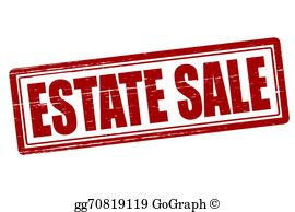 Estate Sale Clip Art.