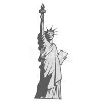 Estátua Da Liberdade imagens vetoriais.
