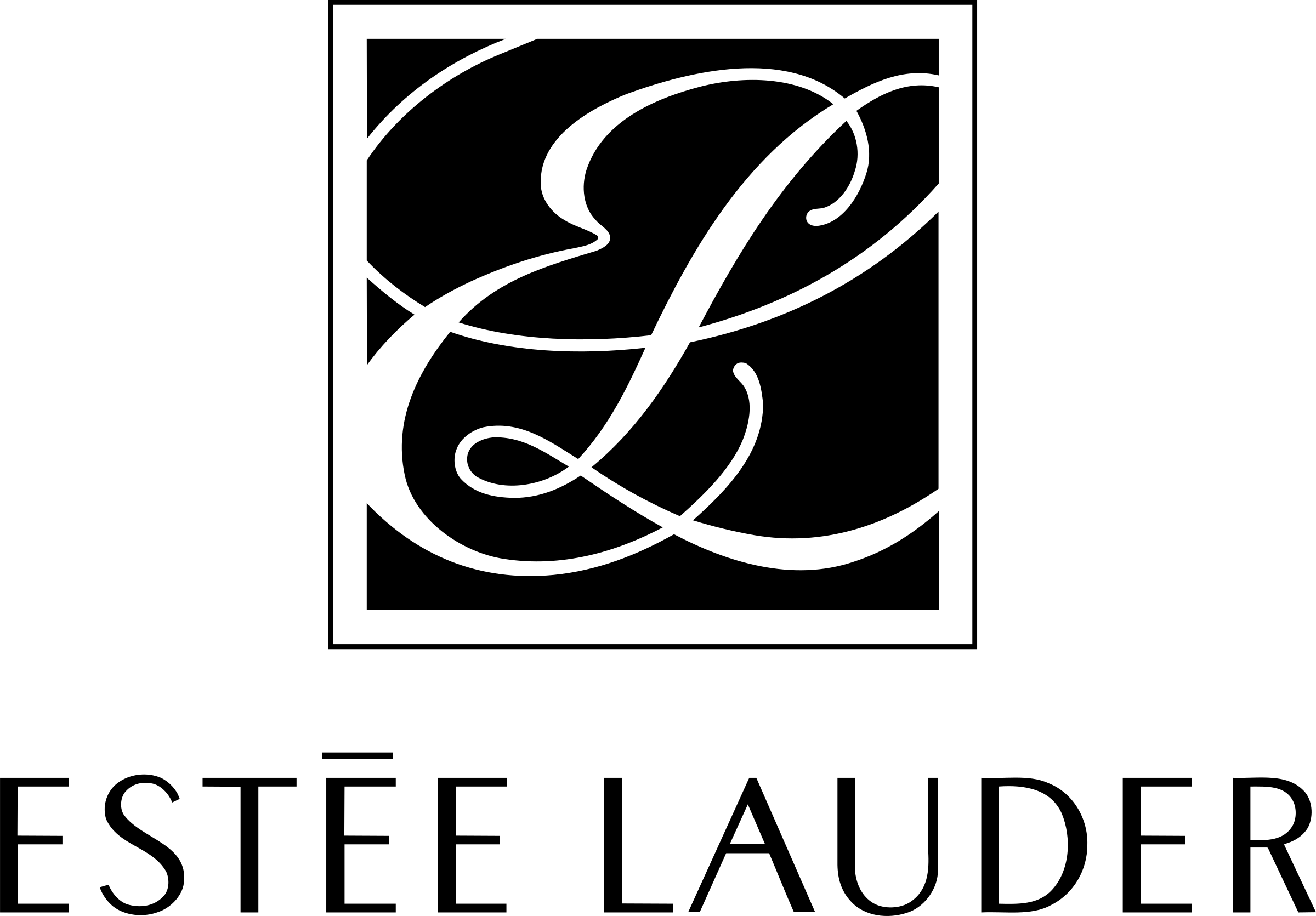 ESTEE LAUDER 2 Logo PNG Transparent & SVG Vector.