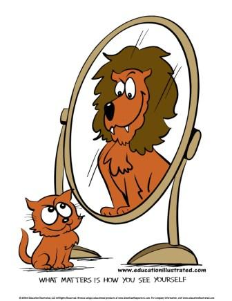 Low self esteem clipart.